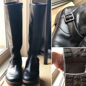 Kenneth Cole Women's Jenny Leather Boots